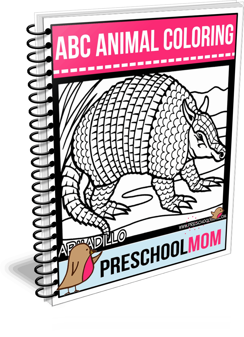 Animal ABC Coloring Pages