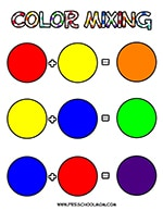 Color Preschool Printables — Preschool Mom