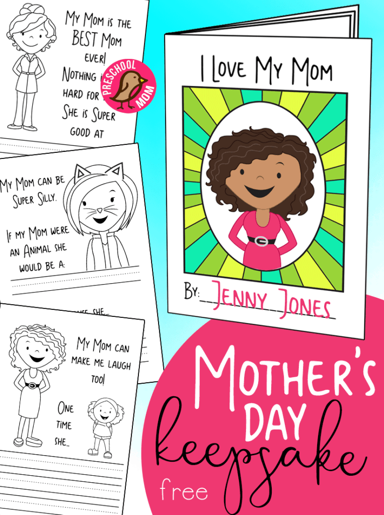 Mother S Day Preschool Printables Preschool Mom