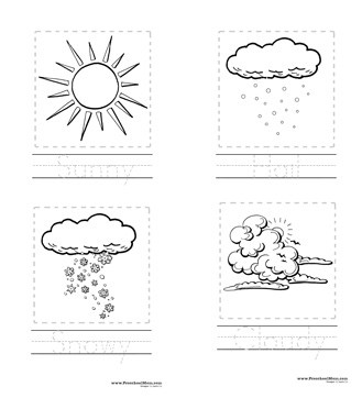 weather coloring pages printable - photo#26