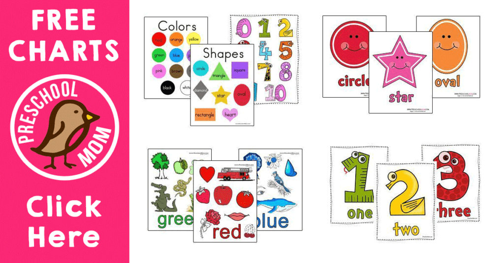 Shape Preschool Printables Preschool Mom
