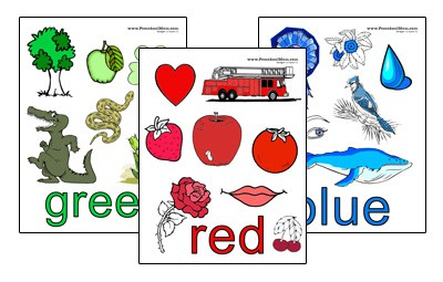 photo regarding Free Printable Color Chart identified as preshool Archives - Preschool Mother