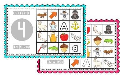 free preschool bingo games preschool mom. Black Bedroom Furniture Sets. Home Design Ideas