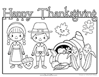 Thanksgiving Preschool Printables - Preschool Mom