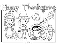 Thanksgiving Preschool Printables — Preschool Mom