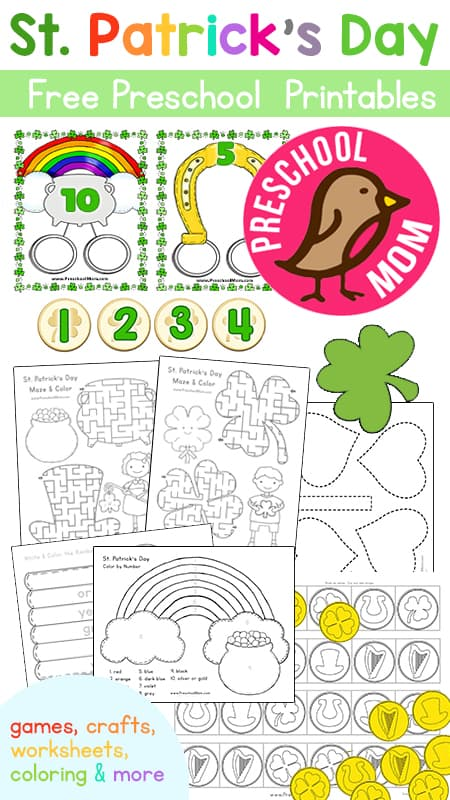 St patricks day preschool printables ibookread ePUb