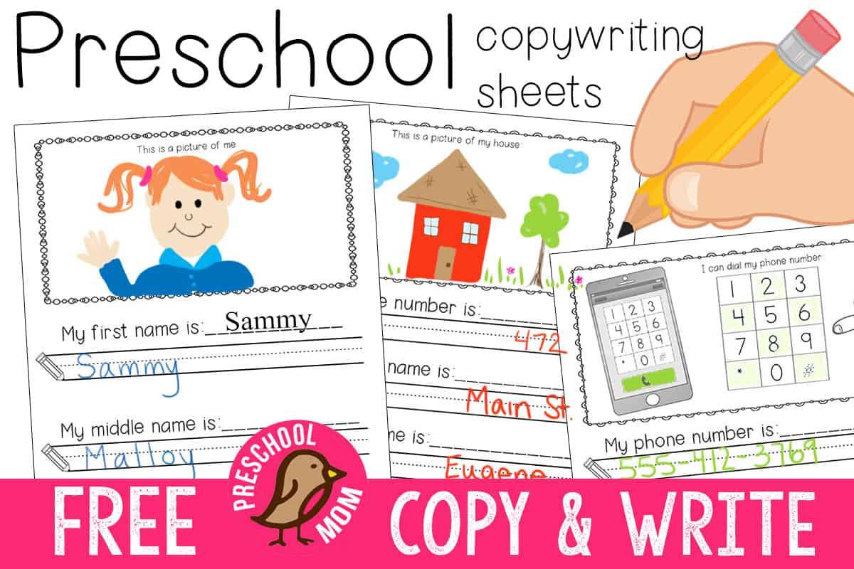 preschool writing prompts