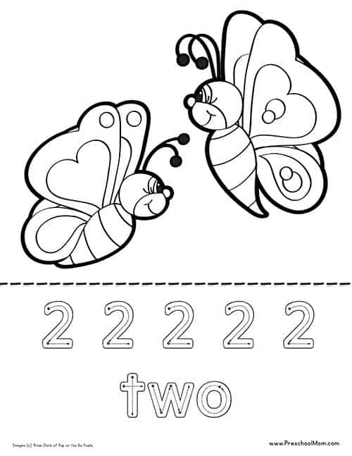 butterfly coloring pages preschool alphabet - photo#4