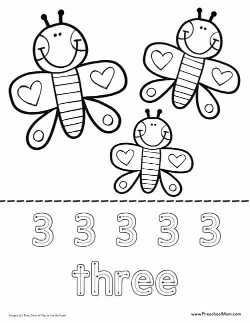 butterfly coloring pages preschool alphabet - photo#11