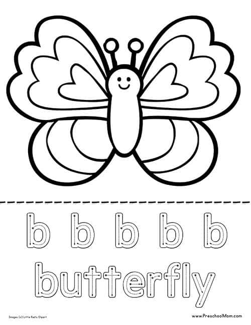 butterfly coloring pages preschool thomas - photo#17