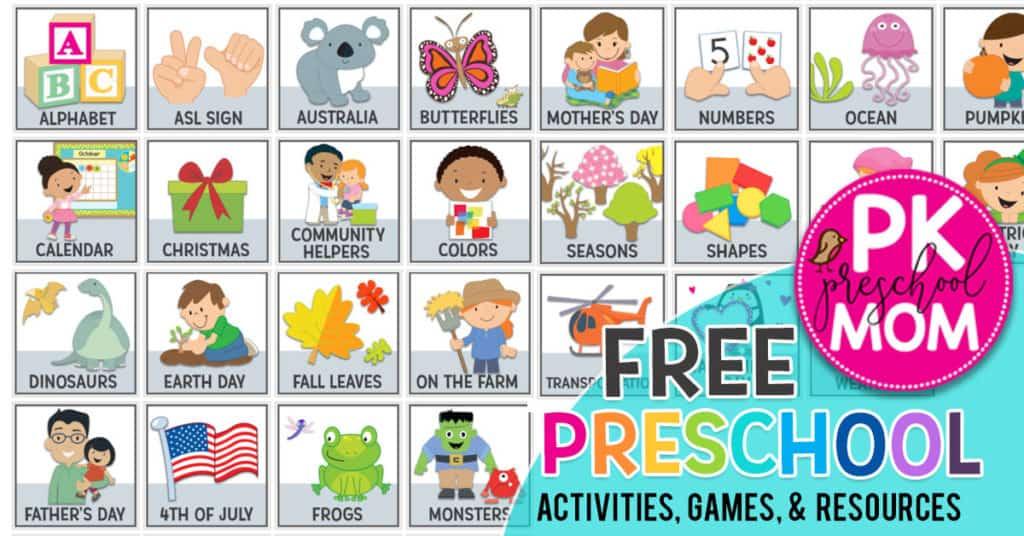 FreePreschoolWorksheets