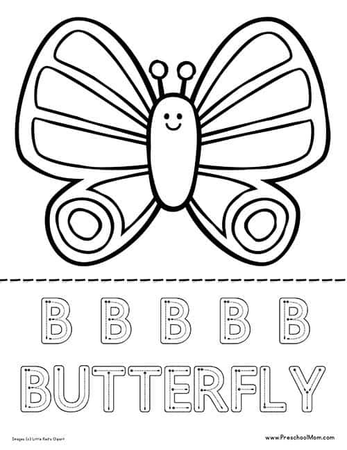 Life Cycle of a Butterfly Worksheet - Preschool Mom