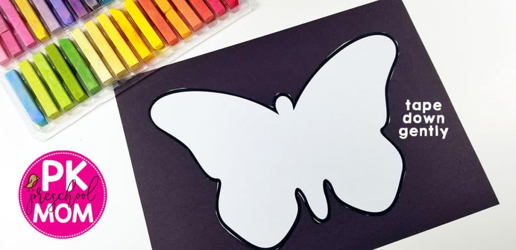 Butterfly Art Project For Kids Preschool Mom