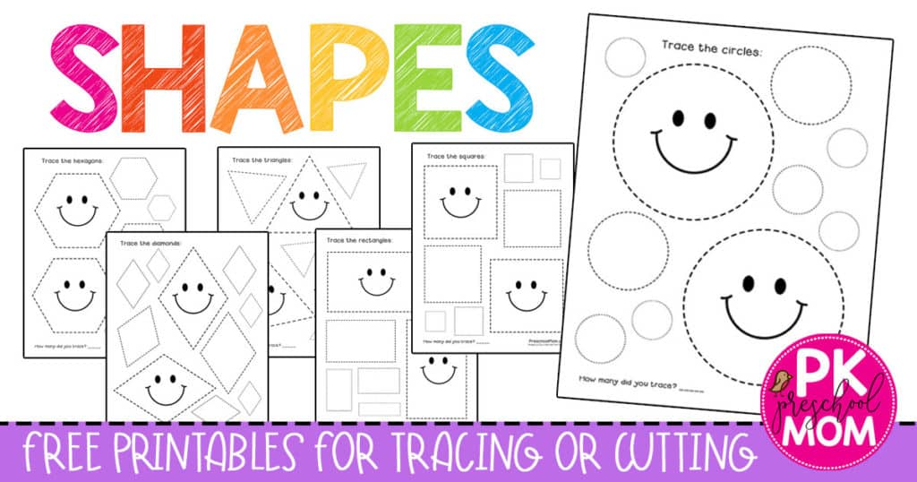 Shapes Archives - Preschool Mom