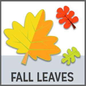 image relating to Printable Fall Leaves named Slide Leaf Preschool Printables - Preschool Mother